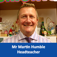 Mr Martin Humble Headteacher