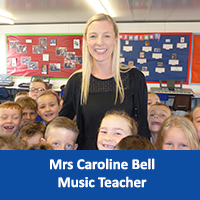 Mrs Caroline Bell Music Teacher