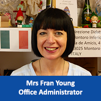 Mrs Fran Young Office Administrator