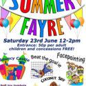Summer Fayre- Saturday 23rd June
