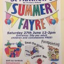Summer Fayre – Saturday June 27th