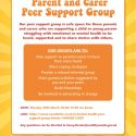 Mental Health Parent and Carer Support group